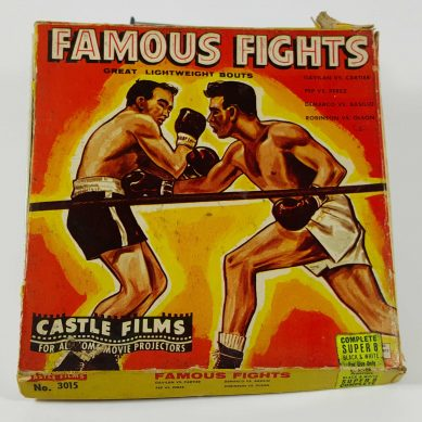Famous Fights Film Reel
