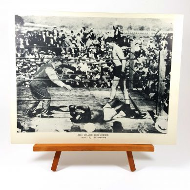 Jess Willard vs Jack Johnson in Havana 1915