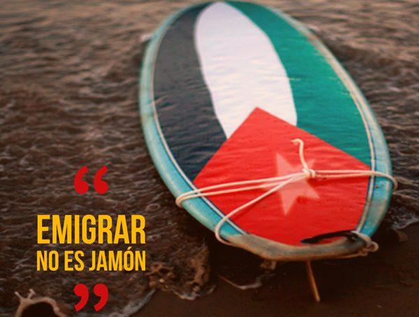 Emigrar no es jamón
